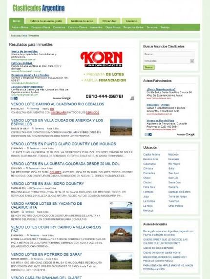 wpClassifieds - Avisos clasificados con WordPress - Blog3K | blog3k.com